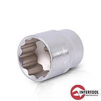 """Intertool ET-0227 Головка 12-гранная 1/2"""" 27мм"""