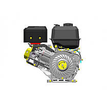Двигун бензиновий Lifan KP460E (20 л. с., електростартер, вал 25 мм, шпонка), фото 2