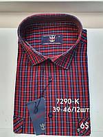 Рубашка 100 % коттон с коротким рукавом - 7290