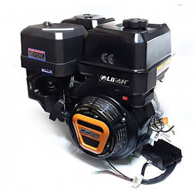 Двигатель газобензиновый Lifan KP460E BF (20 л.с., электростартер, вал 25 мм, шпонка)