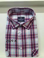 Рубашка 100 % коттон с коротким рукавом - 2509