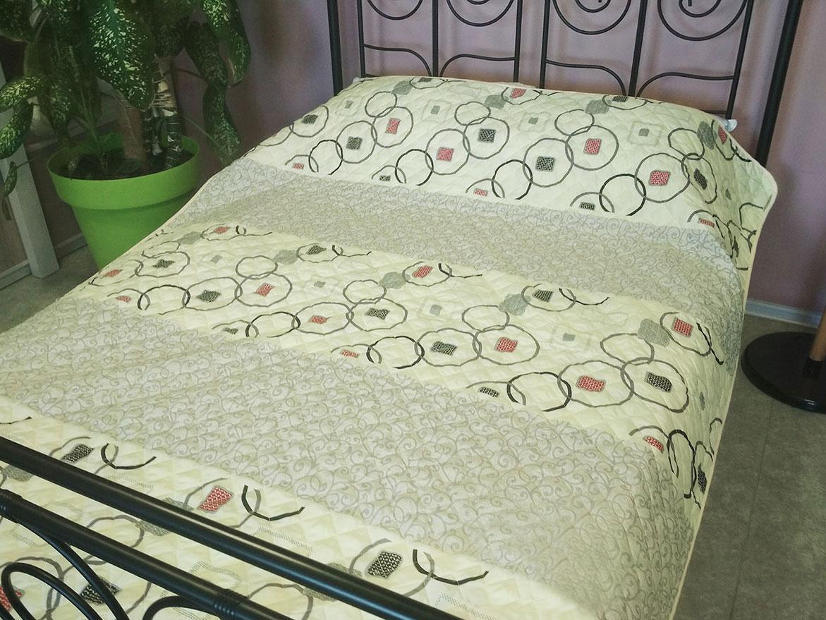 Одеяло-Покрывало полиэстер (П-770) 172х205 цветной