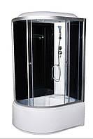 Гидромассажный бокс 120х80 Vivia 81-R-RC правый, глубокий поддон, тонированное стекло