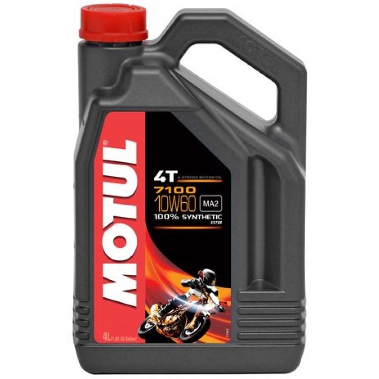 Моторное масло MOTUL 7100 4T SAE 10W60 (4L)