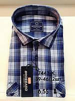 Рубашка 100 % коттон с коротким рукавом - 7443