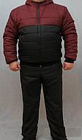 """Стильный зимний, теплый, мужской костюм """"Стильные латки"""", фото 1"""