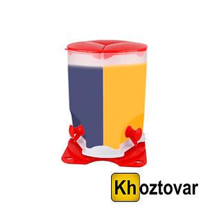 Диспенсер для холодних напоїв Drink Dispenser 3 Compartment трисекційний обертовий