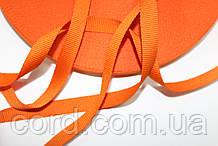 Тесьма Репс 10мм 50м оранжевый