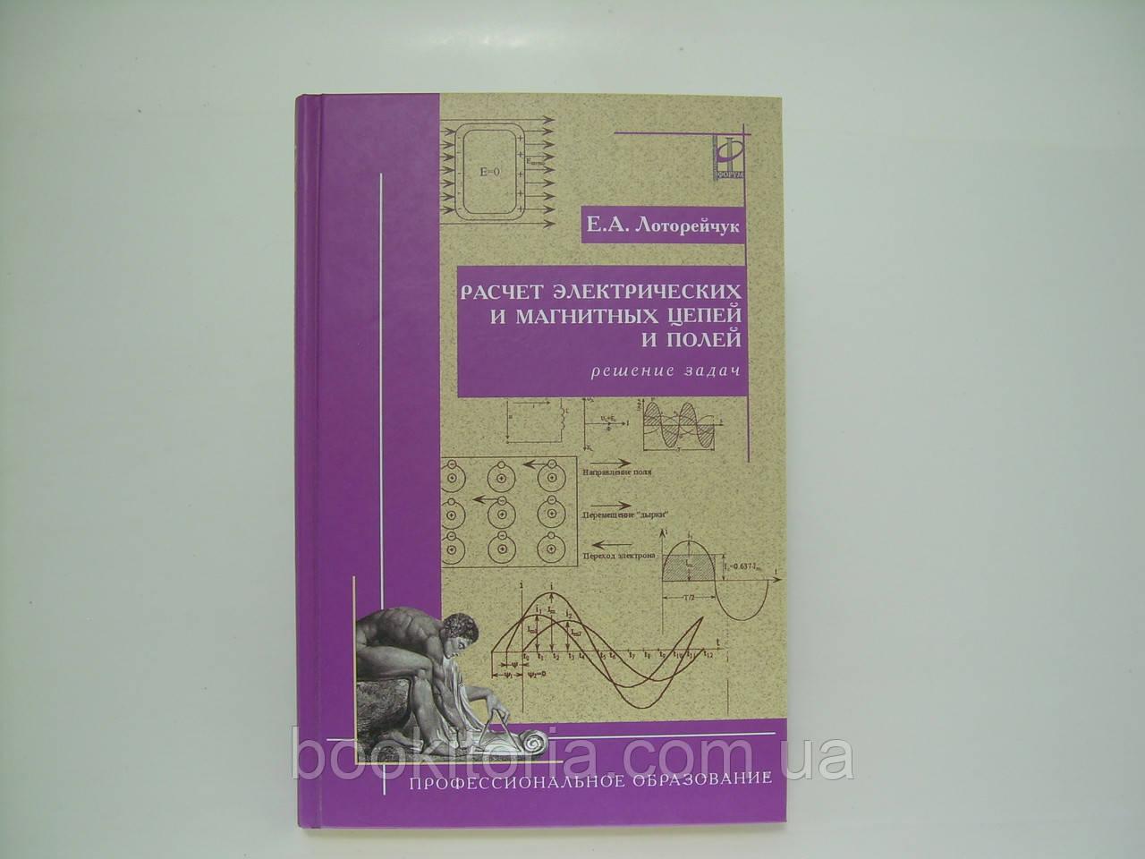 Лоторейчук Е.А. Расчет электрических и магнитных цепей и полей. Решение задач (б/у).