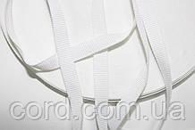 Тесьма Репс 10мм 50м белый