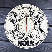 Концептуальные настенные часы в интерьер «Халк», фото 1