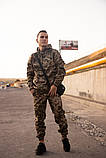 Мужской спортивный костюм Nike + барсетка в подарок 20996 камуфляж, фото 6