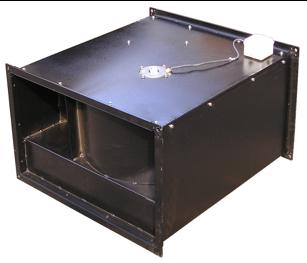 Прямоугольный канальный вентилятор для прямоугольных каналов ВКП 1000x500 R4D500 3F