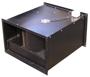 Прямоугольный канальный вентилятор для прямоугольных каналов ВКП 1000x500 R4D500 3F, фото 2
