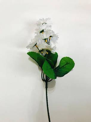 Искусственная ветка ромашка, фото 2