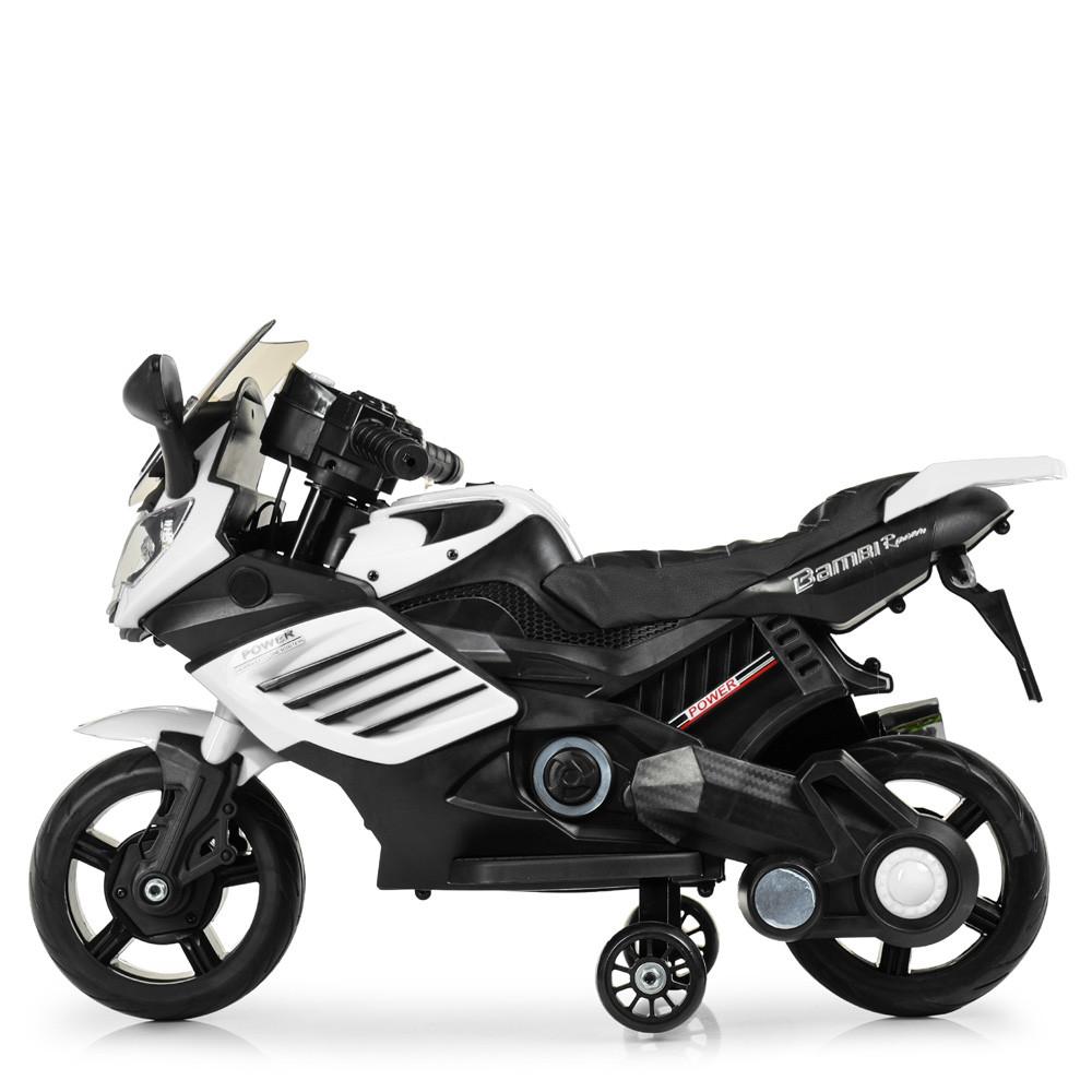 Мотоцикл на электромоторе черный Bambi M 3582EL-1