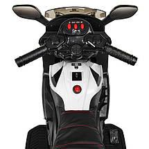 Мотоцикл на электромоторе черный Bambi M 3582EL-1, фото 2