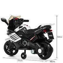 Мотоцикл на электромоторе черный Bambi M 3582EL-1, фото 3