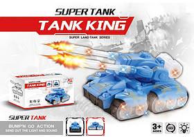 Муз.танк 2631-2 (60шт/4)звук,свет, в коробке