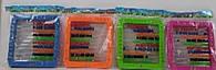 Счеты HY8036 (192шт/2)4 цвета микс, в пакете 18*15см