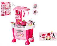 Набор Кухня 008-801 (5шт) свет-звук,посудка, приборы,плита, духовка,в кор. 62,5*11*51,5см