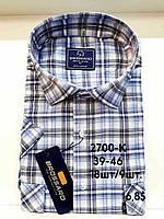 Рубашка 100 % коттон с коротким рукавом - 2700