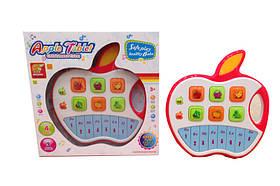 Муз.разв.орган 2266 (48шт/2)яблочко,звук,свет,в коробке26*25*2,5см
