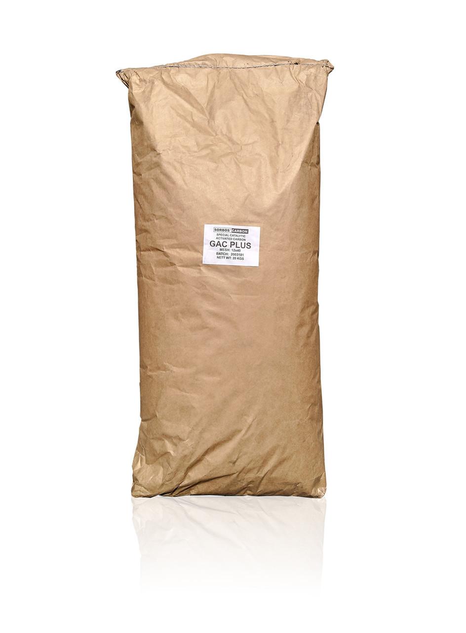 Уголь каталитический Sorbos Carbon GAC PLUS (25кг/58л. мешок),(аналог Centaur HSL 12x40)