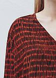 Блуза жіноча коричнева mango, фото 3