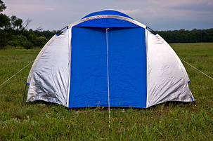 Палатка туристическая Presto Monsun 4 Pro клеенные швы, 3500 мм, фото 2