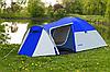 Палатка туристическая Presto Monsun 4 Pro клеенные швы, 3500 мм - Фото
