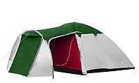 Палатка туристическая Presto Monsun 4 Pro клеенные швы, 3500 мм