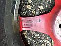 Диски 3шт R18 5x114,3 ET32 красные 00380 Диски и резина, фото 5
