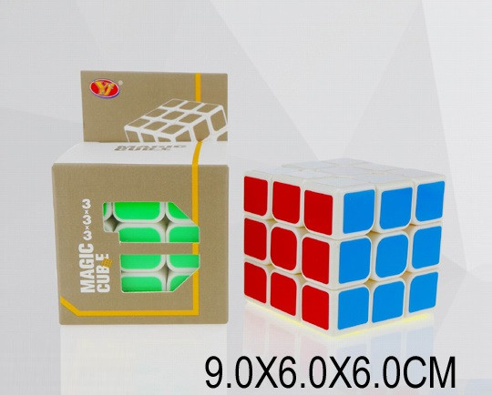 Кубик логика YJ8305 (1685621) (240шт/2) 3*3, в коробке 9*6*6см