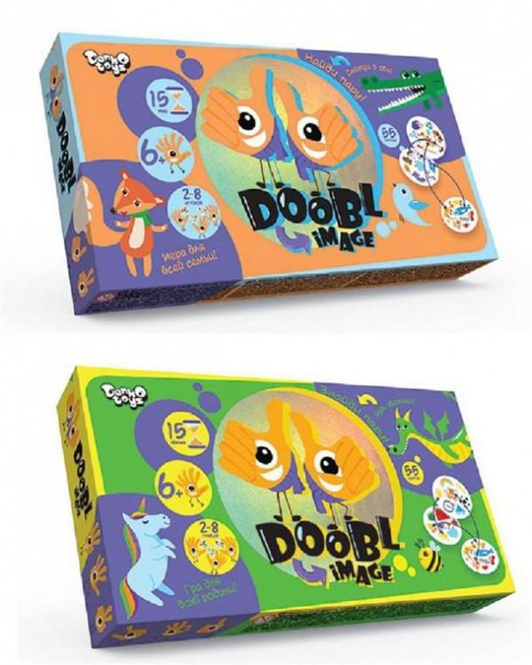 "Настільна розважальна гра ""Doobl Image"" міні укр"