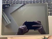 Дисплей  Asus ZenPad 10 Z300M/Z300CNL/Z301ML/Z301MFL + тачскрин, черный, с передней панелью золотистого цвета, с желтым шлейфом