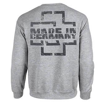 Толстовка Свитшот РАМШТАЙН Made In Germany меланжевая, фото 2
