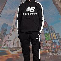 Мужской  спортивный костюм в стиле New Balance(нью беленс) черного цвета S.M.L.XL.XXL