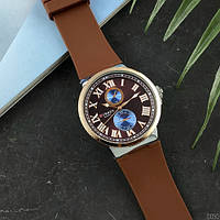 Часы C.u.r.r.e.n 8160-2 Silver-Brown.Механизм - кварцевый. Материал корпуса\ремешка: часовая сталь\каучук., фото 1