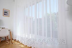 Тюлевой шифон белый высота 295 см