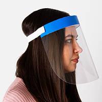 Защитный экран, маска, щиток для мастера маникюра, косметолога. Высокий уровень защиты от вирусов.