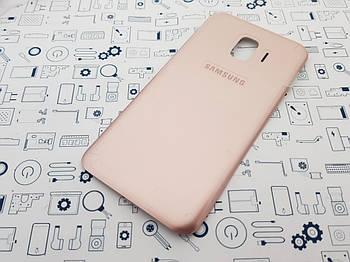Крышка Samsung J2 Core SM-J260F золото Сервисный оригинал с разборки