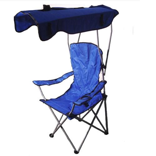 Кресло туристическое складное Паук L с навесом 54*54*127