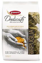 Макаронные изделия Granoro Dedicato Tagliatelle verdi n.80 500 г