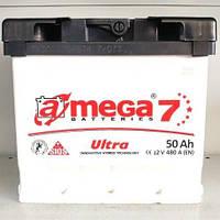 Обслуживаемый аккумулятор A-MEGA Ultra  6ст-50Ah 480A L+ на легковой автомобиль