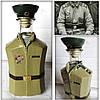 Декор бутылки в форме рядового погранвойск СССР по фотографии заказчика Подарок пограничнику