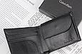 Мужское брендовое кожаное портмоне (1399) подарочная упаковка, фото 2