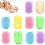 Дорожное мыло одноразовое в пластинах с мыльницей Adna, фото 3