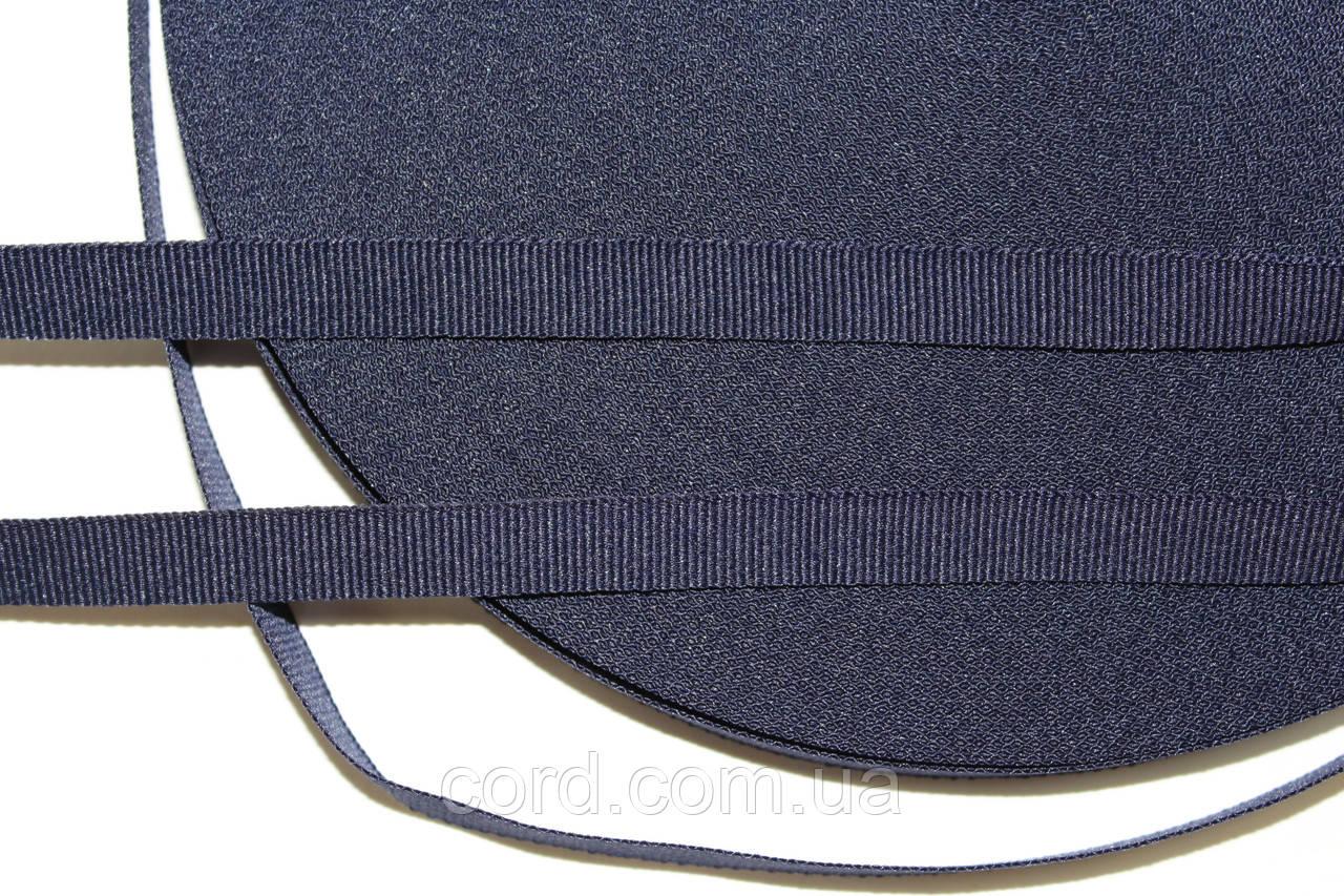 Тесьма Репс 10мм 50м синий