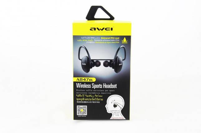 Бездротові навушники з мікрофоном Awei A847BL BT, фото 2